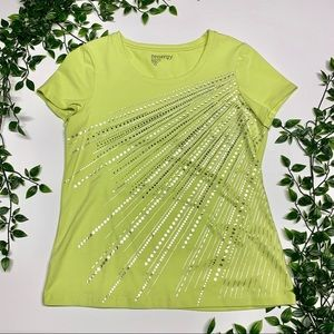 Zenergy By Chico's Lime Top (0)